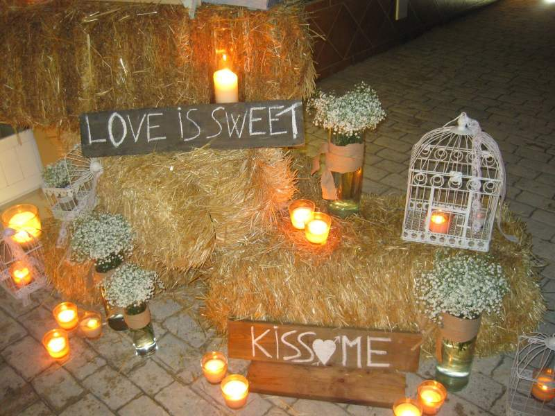 Bodas temáticas: LOVE IS SWEET